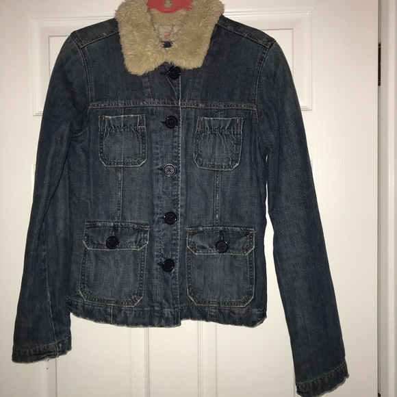 Abercrombie & Fitch Jackets & Blazers - Abercrombie & Fitch denim jacket